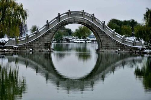 徐州的雪景太美了