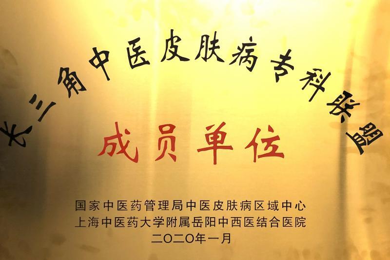 徐州市中医院加入长三角中医皮肤病专科联