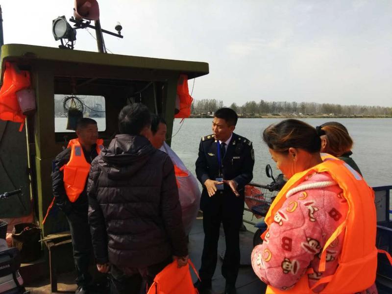 邳州海事 针对农忙季节对渡口安全进行重点监管