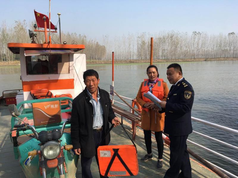 邳州市地方海事处 全力保障清明节期间辖区水上交通