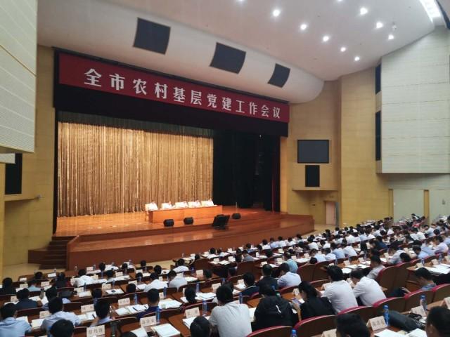 全市农村基层党建工作会议召开