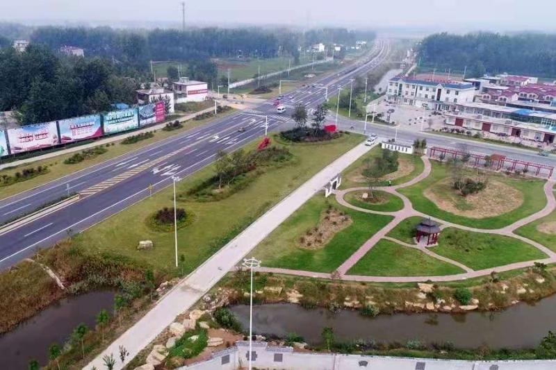 邳州采用无人机对交通干线沿线环境进行销号管理