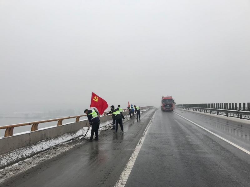 邳州市交通运输部门全力做好雨雪天气应急保畅工作