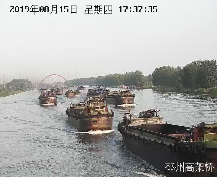 限时管控  单向通航  邳州海事力保汛期通航