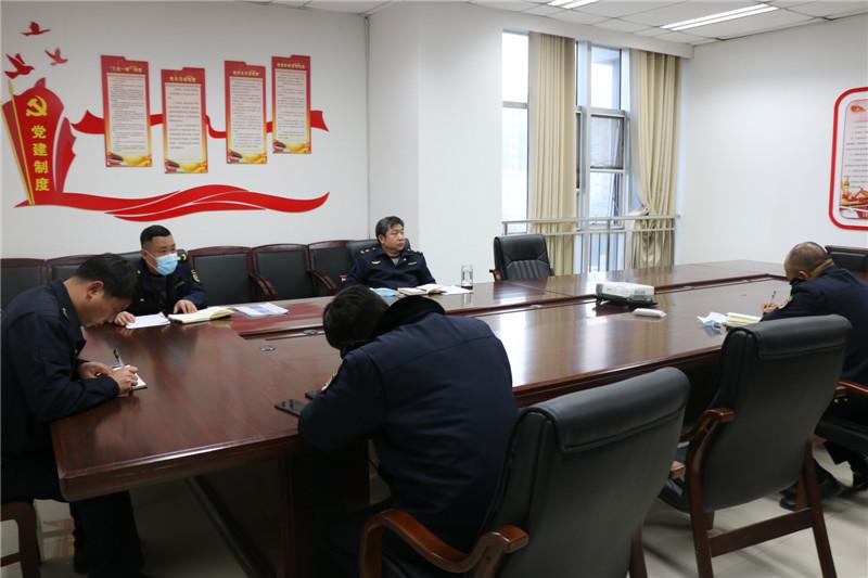 沛县城市管理局召开扬尘管控工作专题会