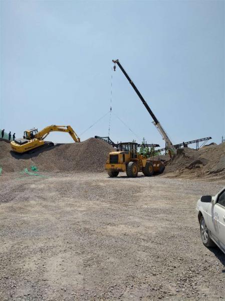 邳州市严厉打击非法采石专项行动成效显著