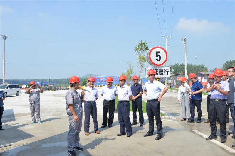 徐州市港口大气污染防治工作现场推进会在邳州召开