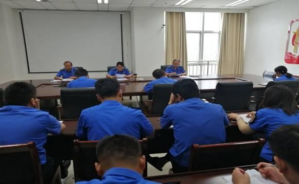 沛县城管局机关党支部召开组织生活会