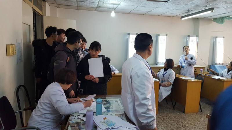 六院医讯丨为铜山区万名高考学生健康体检