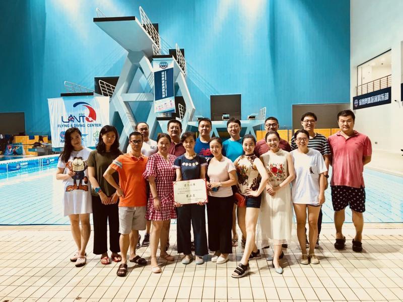 徐州市儿童医院丨参加卫计委职工游泳比赛获佳绩