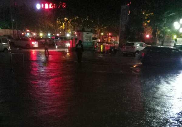 徐州市儿童医院丨进行暴雨清淤工作