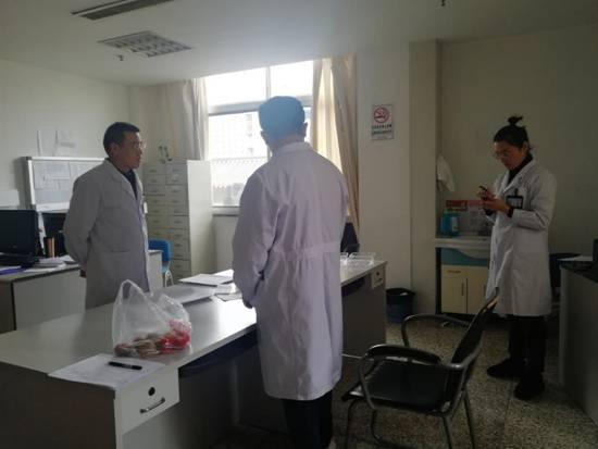 徐州市中医院丨医务处开展春节前医疗安全大检查