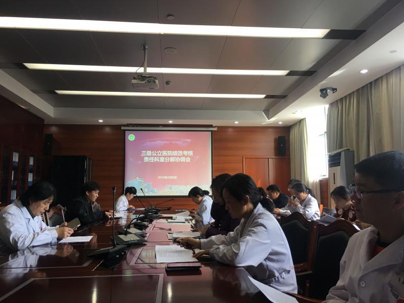 徐州市儿童医院----组织召开《三级公立医院绩效考