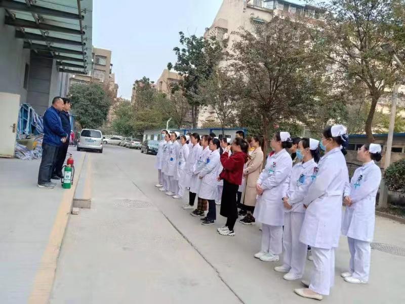 【生命第一,安全先行】铜山区中医院时刻把安全工