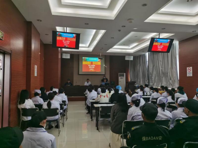 铜山区中医院开展消防安全知识培训及应急疏散演练