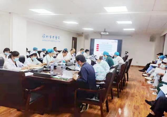 进一步加强院感和疫情防控工作 徐州市中医院召开感