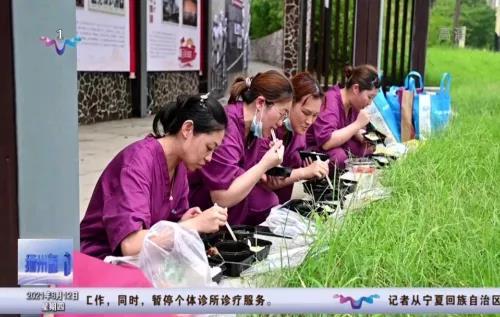 """徐州市中医院:【战疫有我】转战""""揽月河""""采样点"""