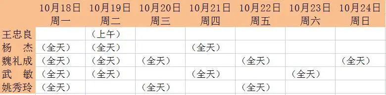 【名医堂坐诊通知】10月18-24日中医专家坐诊时间表