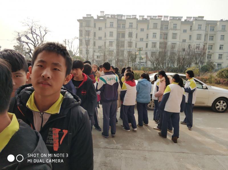 """单集镇中心中学徐州市第一人民医院来校进行""""近视"""